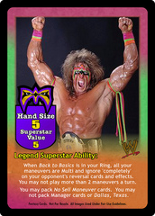 The Ultimate Warrior Superstar Card