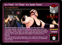 It's Time!  It's Time!  It's Vader Time!
