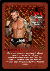 The Viper Superstar Card