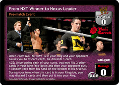From NXT Winner to Nexus Leader