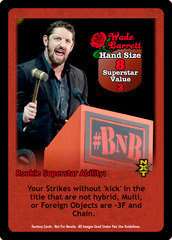 Wade Barrett Superstar Card - VSS