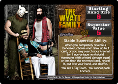 <i>Revolution</i> The Wyatt Family Superstar Card
