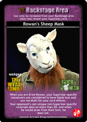 Rowan's Sheep Mask