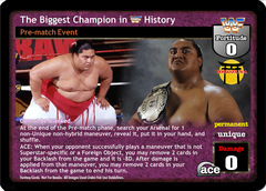 The Biggest Champion in WWF History