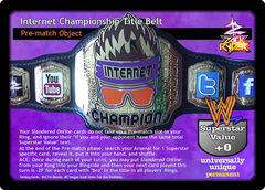 Internet Championship Title Belt