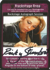 Backstage Autograph Session - Ricky Steamboat