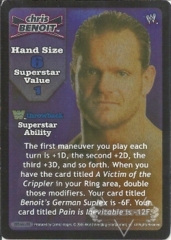 Chris Benoit Superstar Card (TB) - SS3