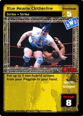 Blue Meanie Clothesline