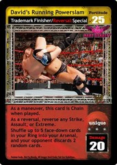 David's Running Powerslam