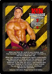 Ken Shamrock Superstar Card