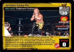 Jericho's Cocky Pin