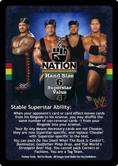 Nation of Domination Superstar Card