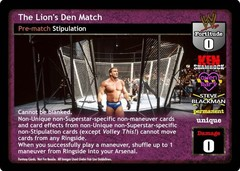 The Lion's Den Match