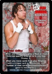 Dean Ambrose Superstar Card (PROMO)