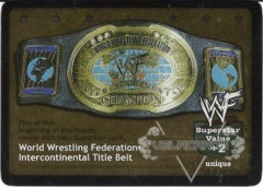 World Wrestling Federation Intercontinental Title Belt (1.0)