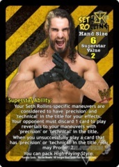 Seth Rollins Superstar Card (PROMO)