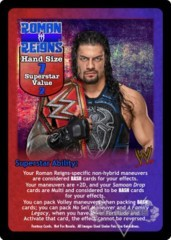Roman Reigns Superstar Card - VSS (2)