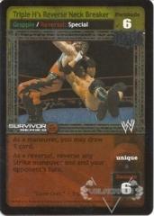 Triple H's Reverse Neck Breaker - SS2