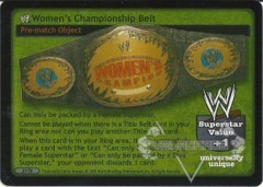 WWE Women's Championship Belt