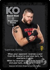 Kevin Owens Superstar Card - VSS