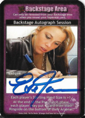 Backstage Autograph Session - Eve Torres