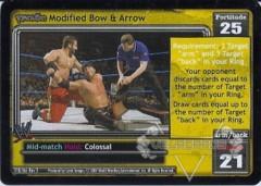 <i>Revolution</i> Modified Bow & Arrow