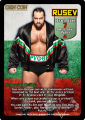 Rusev Superstar Card (PROMO)