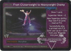 <i>Revolution</i> From Cruiserweight to Heavyweight Champ