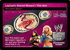 LayCool's Shared Women's Title Belt