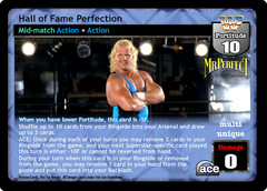 Hall of Fame Perfection