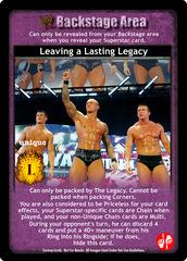 Leaving a Lasting Legacy