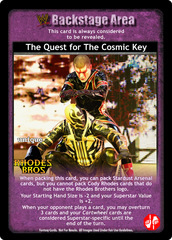 The Quest for The Cosmic Key