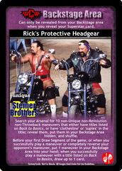 Rick's Protective Headgear