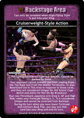 Cruiserweight-Style Action