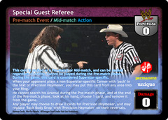 Special Guest Referee