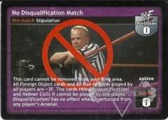 No Disqualification Match