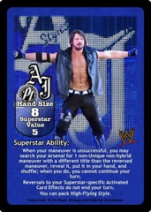 AJ Styles Superstar Card