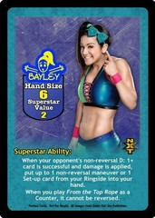Bayley Superstar Card