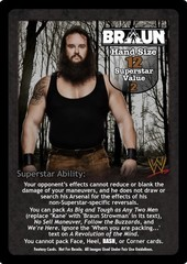 Braun Strowman Superstar Card