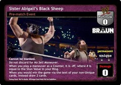 Sister Abigail's Black Sheep