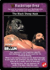 The Black Sheep Mask