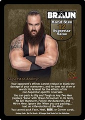 Braun Strowman Superstar Card - VSS