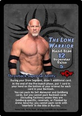 The Lone Warrior Superstar Card (TB) - VSS