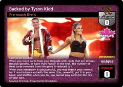 Backed by Tyson Kidd