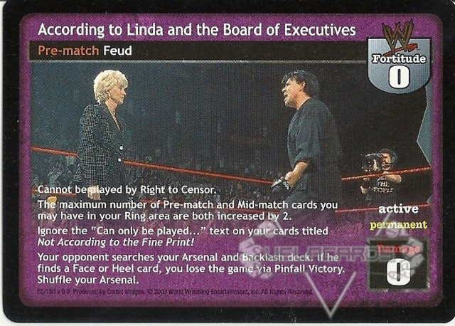 According to Linda and the Board of Executives