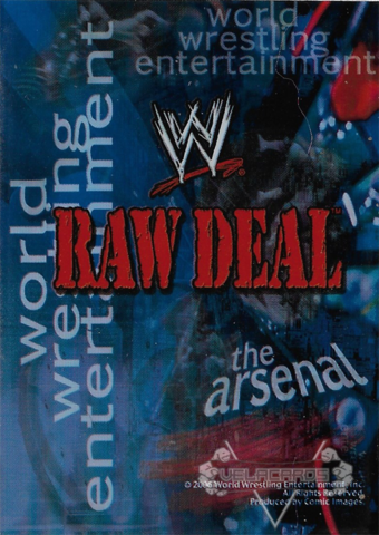 RAW Deal Sleeve - The Arsenal