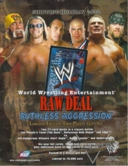 Ruthless Aggression Sales Sheet