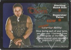<i>Revolution</i> Kevin Thorn Superstar Card