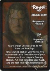 Rhyno Superstar Card - SS3