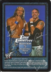 Edge and Christian Superstar Card (PROMO)